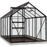 ACD tuinkas Lily 6.2m2 - zwart – veiligheidsglas