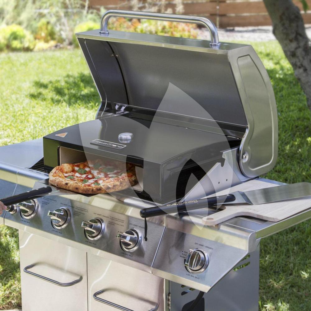 bb grill bakerstone pizza oven box 59 centimeter. Black Bedroom Furniture Sets. Home Design Ideas