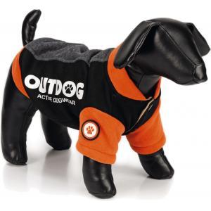 Hondenjas Outdog oranje/zwart L 34 cm