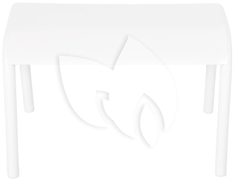 Esschert Design Koffietafel metaal wit   Tuinexpress be