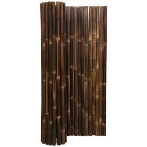 Bamboemat zwart 180 x 200 cm x 50-60 mm