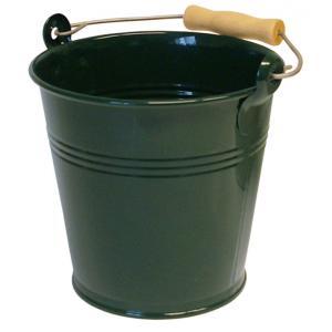 Zinken emmer 4 liter groen