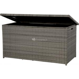 Soho Coal kussenbox wicker antraciet