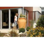 Garantia Amphore regenton met bloembak 360 liter zand