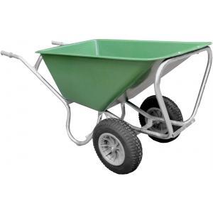 Boerderij kruiwagen met 2 wielen 160 liter - Anti-lek band
