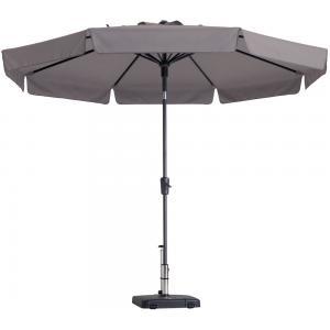 Madison parasol Flores rond 300 cm taupe
