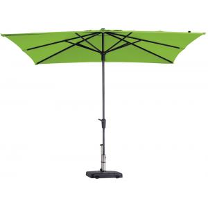 Madison parasol Syros Luxe vierkant 280 cm lime