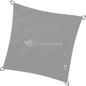Dreamsail waterafstotend schaduwdoek grijs vierkant - 4.0 x 4.0 meter