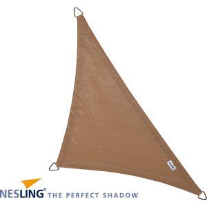 Coolfit schaduwdoek driehoek 90 graden zand - 4.0 x 4.0 x 5.7 meter