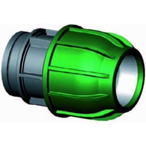 Koppeling met binnendraad - buiskoppeling - 32 mm x 1