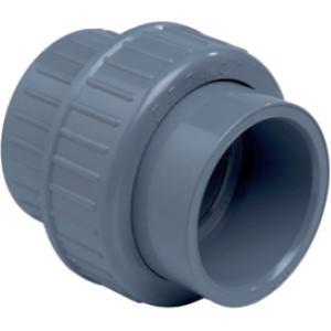 PVC 3-delige koppeling - 63 mm