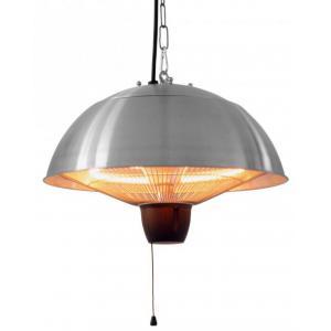 Mushroom RVS - hangende elektrische terrasverwarmer
