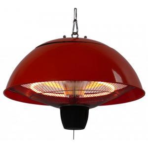 Mushroom rood - hangende elektrische terrasverwarmer