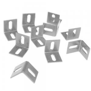 L-klemmen 10 stuks - Zilver