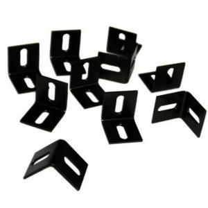 L-klemmen 10 stuks - Zwart