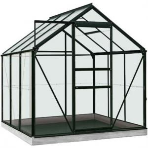 ACD tuinkas Daisy 3.8m2 - zwart – polycarbonaat
