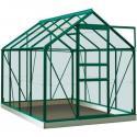 ACD tuinkas Ivy 5.0m2 - groen – polycarbonaat