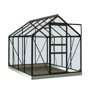 ACD tuinkas Ivy 5.0m2 - zwart – veiligheidsglas