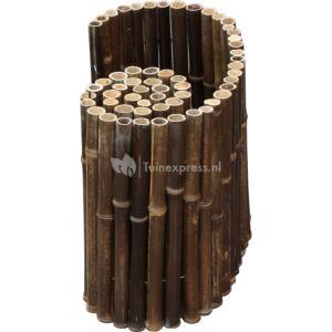 Bamboe border natuurlijk zwart