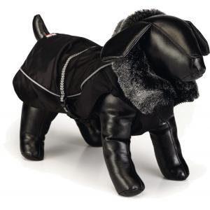 Nano hondenjas Aspen zwart 25 cm