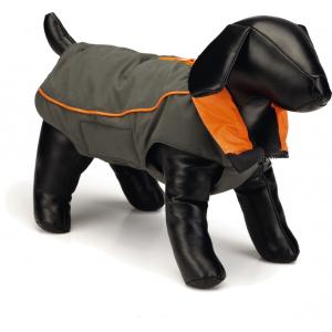 Nano hondenjas Vail Grijs/oranje 55 cm