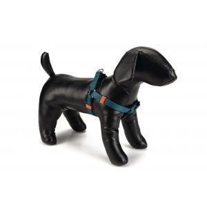 Hondentuig nylon 35-60cm donkergroen