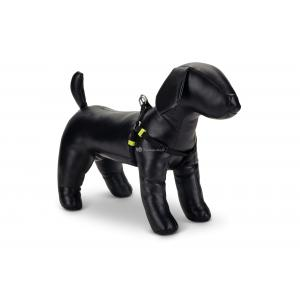 Hondentuig nylon Uni 46-75cm zwart