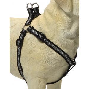 Hondentuig poot motief 50-80cm zwart