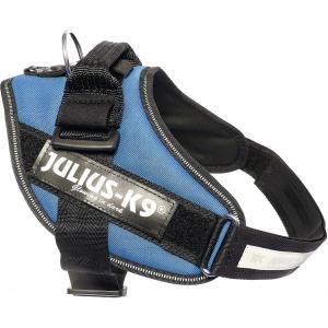 Julius-K9 IDC-Powertuig 58-76cm blauw