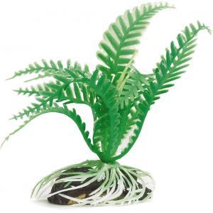 Kunststof aquariumplant groen 004