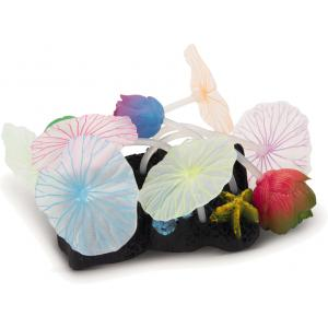 Lotusbloem glow in the dark multi aquarium decoratie