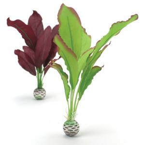 BiOrb zijden aquarium planten medium groen & paars aquarium decoratie