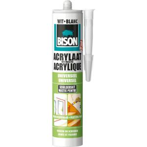 Bison acrylaatkit - Wit