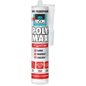 Bison Poly Max Crystal montagelijm transparant