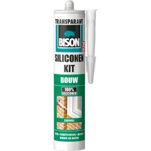 Bison siliconenkit bouw - Transparant