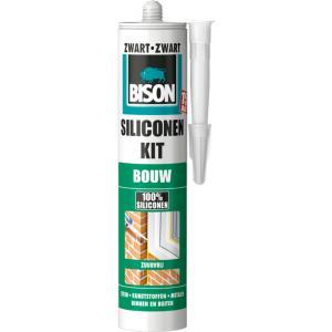 Bison siliconenkit bouw - Zwart