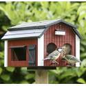 Voederhuisjes voor een vogelvriendelijke tuin