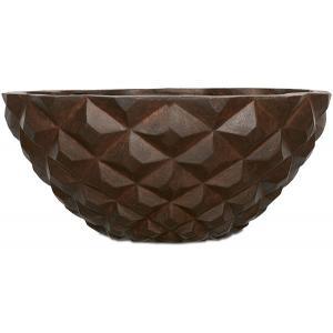 Capi Lux Heraldry bowl roest 44x44x20cm bloempot
