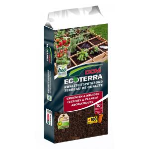 Ecoterra groenten en kruiden potgrond - 30 liter
