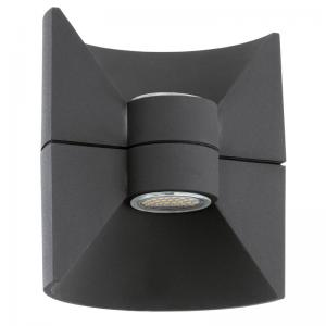 Redondo wandlamp LED antraciet