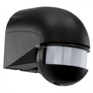 Bewegingssensor voor buitenlamp - Zwart