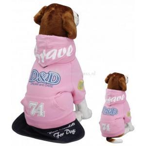 Hondenjas Fashion brave roze - M