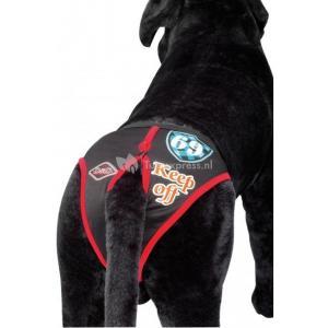 Hondenbroekje modern zwart - S