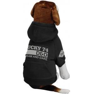 Hondenjas Fashion Lucky74 grijs