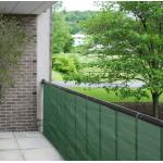 Balkondoek groen 0.9 x 5 meter