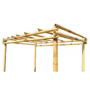 Bamboe pergola naturel 400 x 300 cm