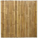 Bamboe schutting naturel 180 x 180 cm x 60-80 mm