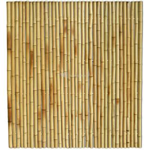 Bamboe schutting naturel 180 x 200 cm x 35-45 mm