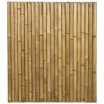 Bamboe schutting naturel 180 x 200 cm x 60-80 mm