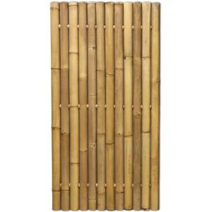 Bamboe schutting naturel 90 x 180 cm x 60-80 mm